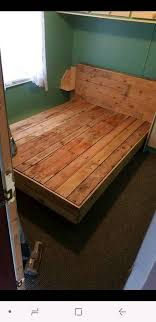 king size pallet bed solid single double kingsize pallet bed in newtownabbey county