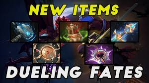 dota 2 5 new items dueling fates 7 07 update youtube