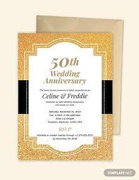 22 Wedding Anniversary Invitation Card Templates Word Psd Ai