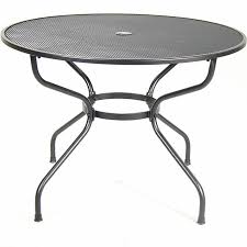 42 mesh round table dinette patio furniture