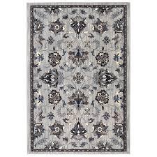mohawk home ismere grey indoor area rug common 5 x 8 actual