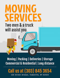 Moving Flyer Template Moving Services Flyer Template Postermywall