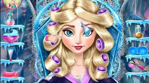 tutorial ice queen real makeover a free game on sgogames disney princesses frozen anna elsa stardoll