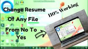 How To Change Resume Capability In IDM From No To Yes 100% working