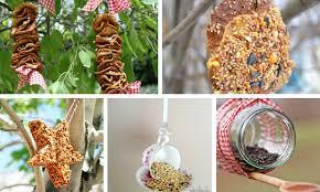 24 ways to make your own birder feeder for your garden or backyard bird feeder ideas
