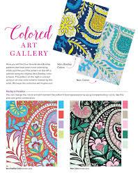 Vera Bradley New Patterns Stunning Amazon Vera Bradley Paisley Patterns Coloring Book Design