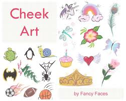 face painting design sheet inspirational fancy faces of rochester