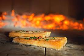 The Salmon Steaks Recipe With Wood Fired Oven Easy To Cook Le