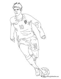 Coloriage De Foot Maradona