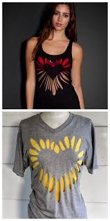 40 ways to upcycle old clothes diy ideas concept of diy cut out shirt