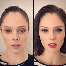 gwyneth paltrow coco rocha and marilyn monroe demonstrate the power of makeup