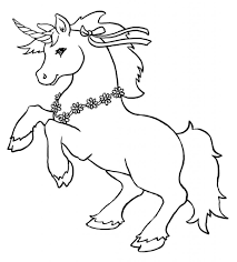 Small Picture Unicorn Coloring Page 656