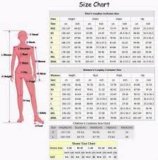 Height Weight Waist Size Chart Servamp Kuro Cosplay Costume Shoes Wholsale Shoes Champs