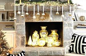 fireplace lighting fill your non working with mercury glass vases and led globes tv c37 lighting