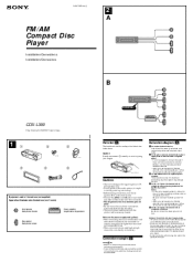 wiring diagram for sony cdx cax wiring diagrams and schematics sony cdx l250 installation manual fm am pact disc player
