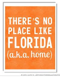 Quotes About Florida Gorgeous Florida Art Print Home Quote Florida Wall Decor Florida Love Florida
