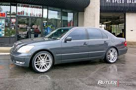 Lexus LS430 with 20in TSW Rouen Wheels exclusively from Butler ...