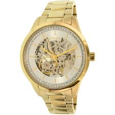 watches from top brand s for men ladies and kids at kmart com chaps women s kasia chp9508 gold stainless steel automatic watch
