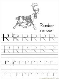 Small Picture Alphabet Abc Letter R Reindeer Coloring Pages 7 Com Coloring Page