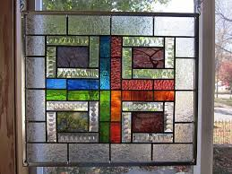 stained glass window panels design