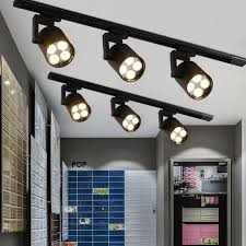 track lighting bedroom pictures beautiful led track light cob 35w ceiling rail lights spotlight for kitchen