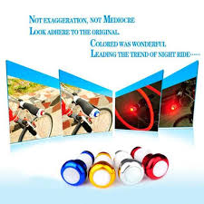 Online Shop Hot Sale <b>1Pair Bicycle Handlebar Light</b> Safety Warning ...