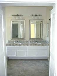 beveled bathroom vanity mirrors. Vanity Mirrors Lowes Mirror Beveled Bathroom Over Double Framed L
