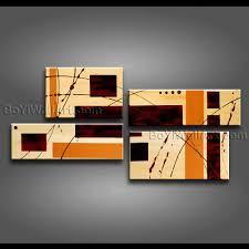 large modern abstract oil painting