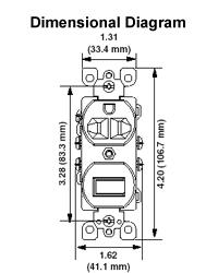 5245 w Leviton Phone Jack Wiring Diagram Leviton 5245 Wiring Diagram #17
