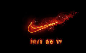 Image result for just do it nike fire