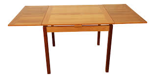 Ansager Mobler Square Danish Modern Teak Extension Dining Table | Chairish