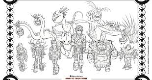Enjoy the trailer of how to train your dragon 3 below. Httyd Coloring Page Free Printable Activity Mama Likes This
