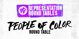 the people of color representation roundtable exists as a one of a kind experiment wherein a room of artists of all disciplines may share work with and