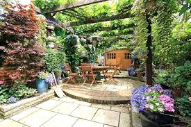 Small Picture Small Garden Patio Designs Ideas Patio Garden Ideas Designs Patio