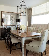 white washed dining room furniture. Farmhouse Dining Table With Wingback Settee White Washed Room Furniture N