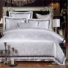 White Jacquard Quilt/Duvet Cover Set Queen King Size Bedclothes ... & 03 Adamdwight.com