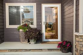 fullview storm door from glass to screen