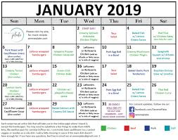 30 Day Keto Meal Plan For January 2019 Low Carb Dinners Serene Plate
