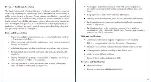 Duties Of A Medical Assistant For A Resumes Doctor Job Duties Selo L Ink Co With Ob Gyn Doctor Job Description