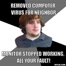 Family Tech Support Guy Meme Generator - DIY LOL via Relatably.com