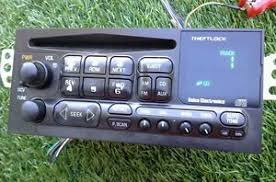 chevy s10 radio 1998 2002 chevy s10 blazer jimmy am fm radio cd player oem see photo