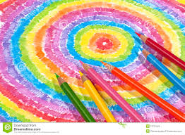Drawingcolor Color Drawing And Colored Pencils Royalty Free Stock Images