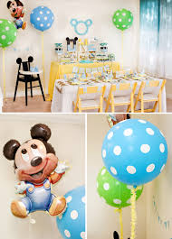 Mickey Mouse Party Printables Free Creative Mickey Mouse 1st Birthday Party Ideas Free Printables