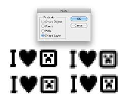 Pixel Perfect Vector Pasting