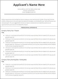 How To Format Resume In Word