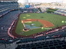 Edison Field Seating Chart Angel Stadium Of Anaheim Seating Chart Map Seatgeek