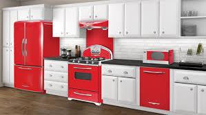 modern kitchen with black appliances vintage style ranges ge retro style kitchen appliances