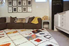 plush rugs moroccan style colorful rug playroom