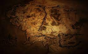75+] Map Of Middle Earth Wallpaper on ...