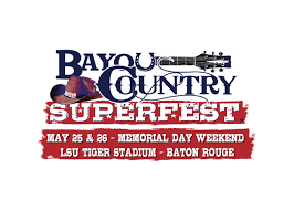Bayou Country Superfest Seating Chart 2016 Bayou Country Superfest Returns To Baton Rouge